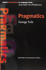 Pragmatics (Oxford Introduction to Language…