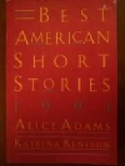 Best American Short Stories, 1991 de Alice…