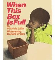 When This Box Is Full Big Book por Patricia…