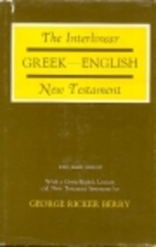 Interlinear Greek-English New Testament:…