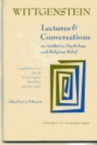 Lectures & conversations on aesthetics,…