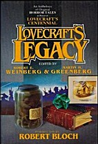 Lovecraft's Legacy (Tor horror) by Robert E.…