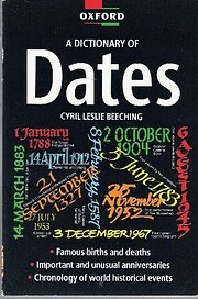 A Dictionary of Dates (Oxford Paperback…