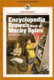 Encyclopedia Brown's book of wacky…