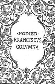 Franciscus Columna av Charles NODIER