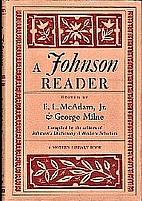 A Johnson Reader by Samuel Johnson