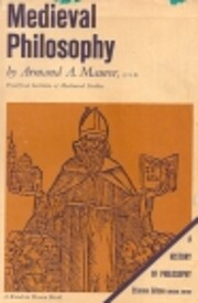 Medieval philosophy de Armand A. Maurer