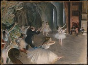 The rehearsal onstage [Postcard] de Edgar…