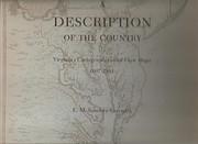 Description of the Country, Virginia's…