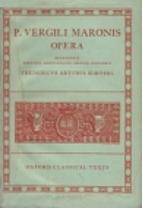 P. Vergili Maronis Opera by Virgil