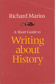 A Short Guide to Writing About History (The…