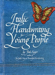 Italic Handwriting for Young People de Fred…