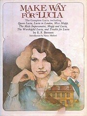 Make Way for Lucia de E. F Benson