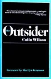 The Outsider de Colin Wilson