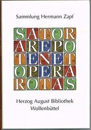 Sammlung Hermann Zapf, Herzog August…