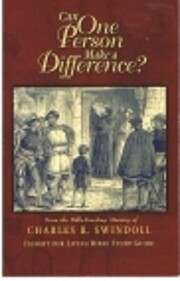 Can One Person Make a Difference? av Charles…