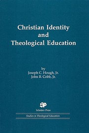 Christian identity and theological education…