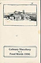 Food Words : Culinary Miscellany by Johan…