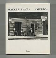 Walker Evans: America de Walker Evans