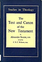 The Text and Canon of the New Testament by…