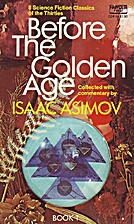 Before the Golden Age: A Science Fiction…