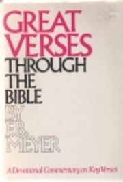 Great Verses Through the Bible av Meyer