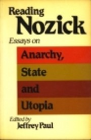 Reading Nozick : essays on Anarchy, state,…