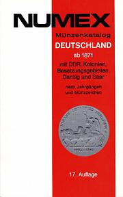 Numex Münzenkatalog Deutschland ab 1871 mit…