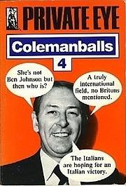 Private Eye Colemanballs: No. 4 av Barry…