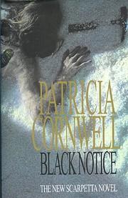 Black notice de Patricia Cornwell