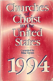 Churches of Christ in the United States:…