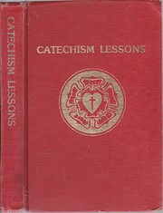 Catechism Lessons: Pupil's Book af Adolph…