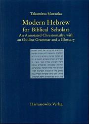 Modern Hebrew for biblical scholars: An…