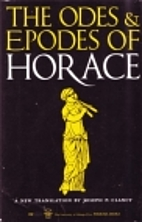 Epodes and Odes by Horace