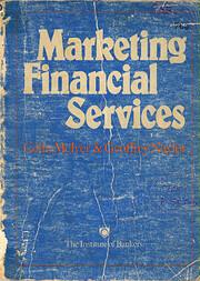 MARKETING FINANCIAL SERVICES de COLIN MCIVER
