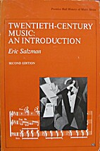 Twentieth Century Music: An Introduction…