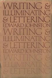 Writing & Illuminating & Lettering af Edward…