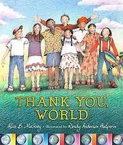 Thank You, World af Alice B McGinty