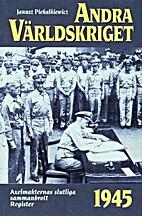 Andra världskriget. 10, 1945 års…