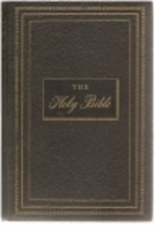 The Holy Bible Douay-Confraternity by Bible