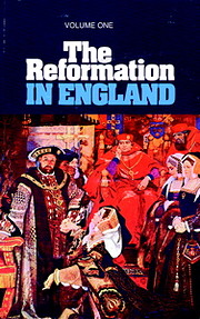 The Reformation in England. Volume one –…