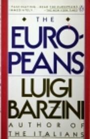 The Europeans por Luigi Barzini