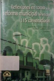 Reflexiones en torno a la reforma municipal…