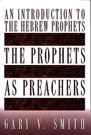 The prophets as preachers : an introduction…