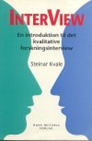InterViews: An Introduction to Qualitative…