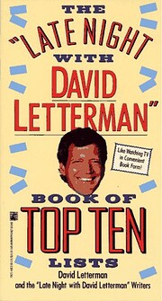 Late Night with David Letterman Book of Top…