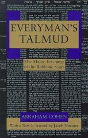 Everyman's Talmud: The Major Teachings…
