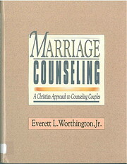 Marriage counseling : a Christian approach…