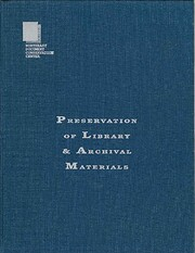 Preservation of Library & Archival…