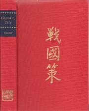 Chan-kuo Ts'e (Michigan Monographs in…